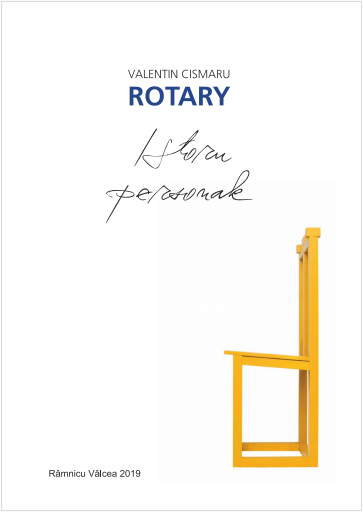 Book Launch event: Rotary – Istorii Personale